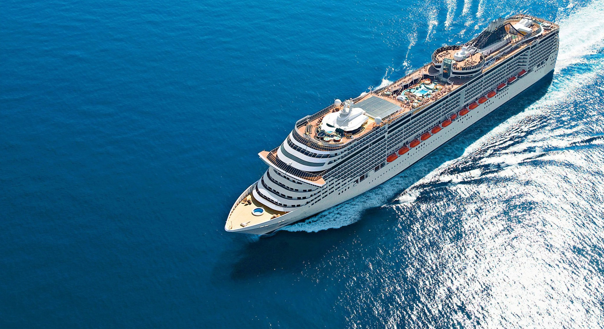 THE TOTAL IT SOLUTION <br>FOR CRUISE SHIPS